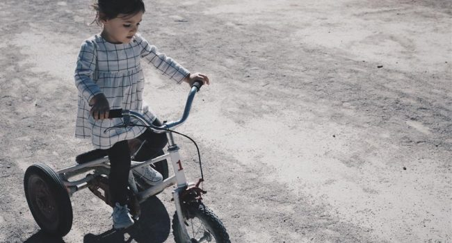 child-on-trike